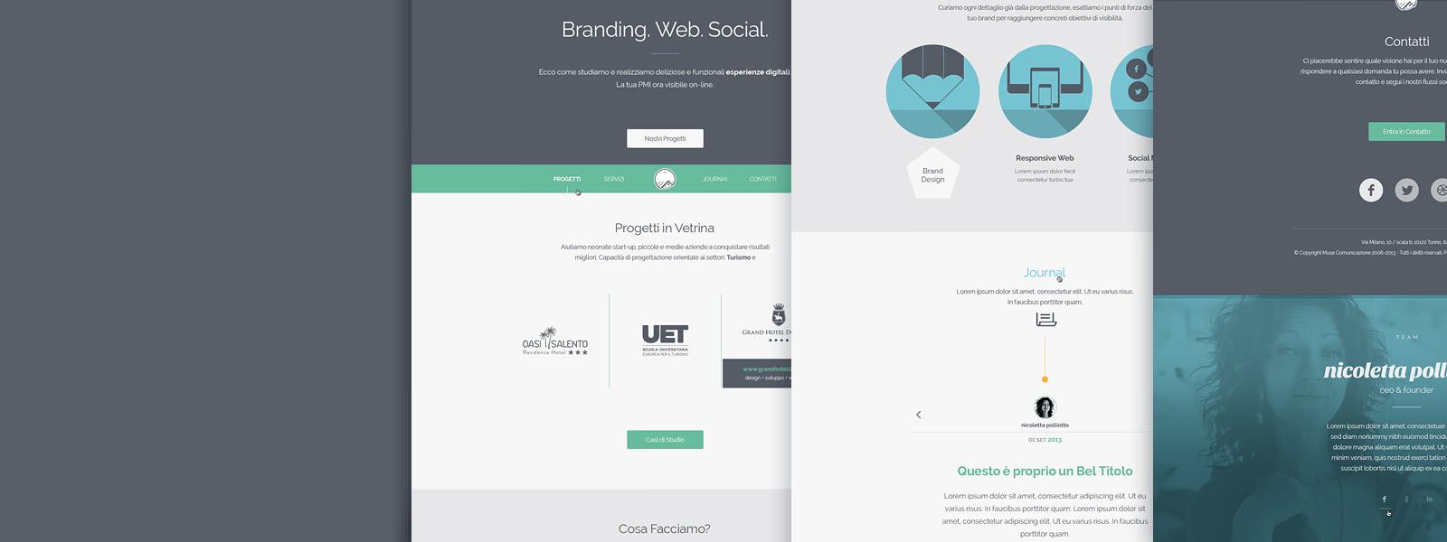 Muse Comunicazione - Visual Design e User Experience