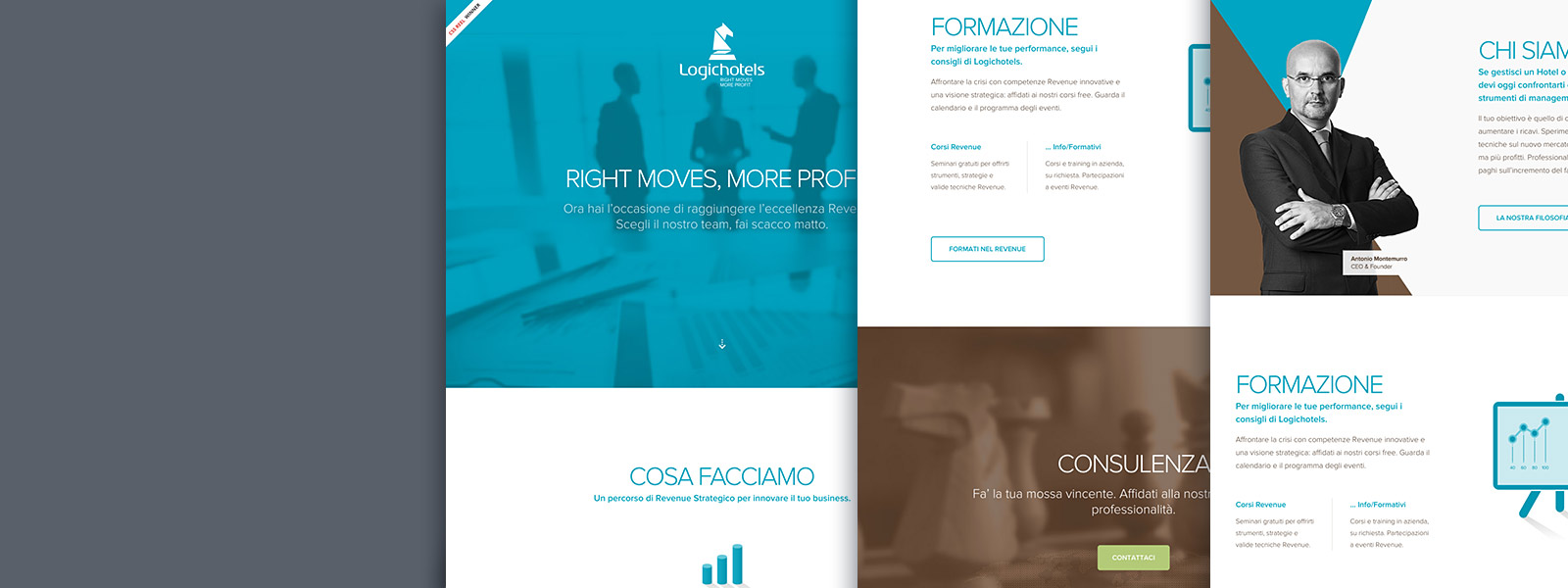 Muse Comunicazione: Logichotels Caso di Studio