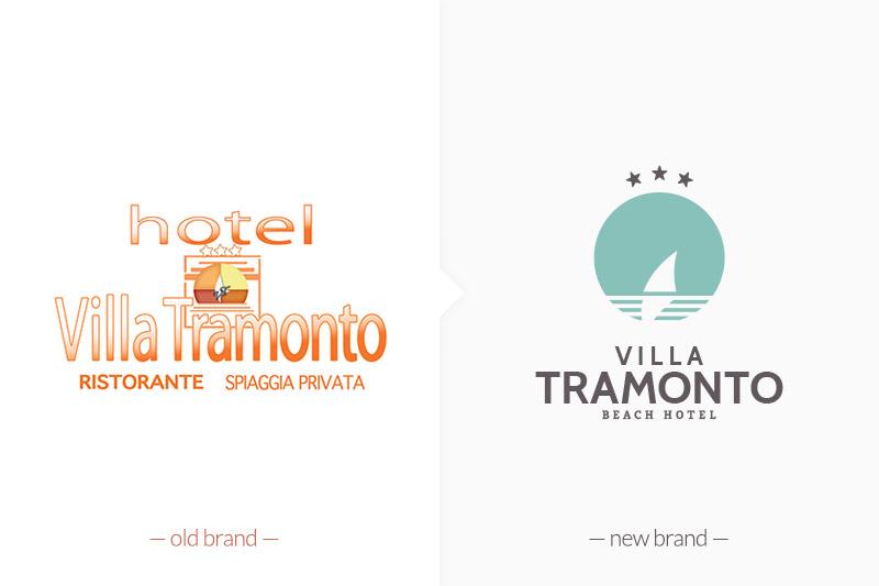 Muse Comunicazione: Logo Restyling per Villa Tramonto
