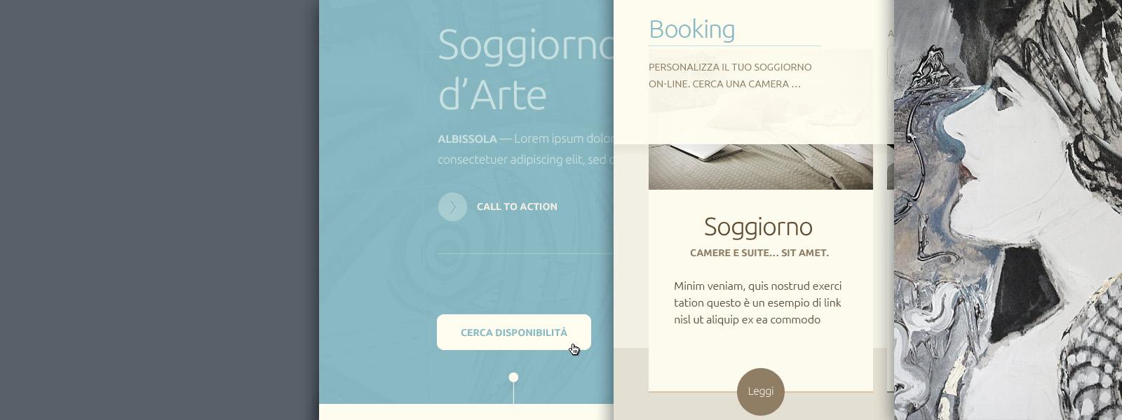 Muse Comunicazione - Art Hotel Garden Website Redesign