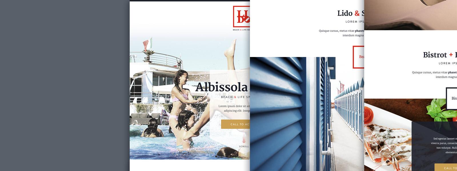 Muse Comunicazione - Lido Beach&Life Resort Brand e Web Redesign