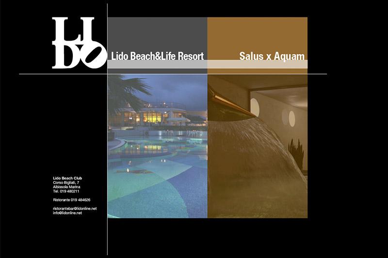 Lido Beach&Life Resort - Vecchio Brand e Pagina Web