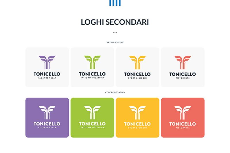 Tonicello - Palette Colori del Brand