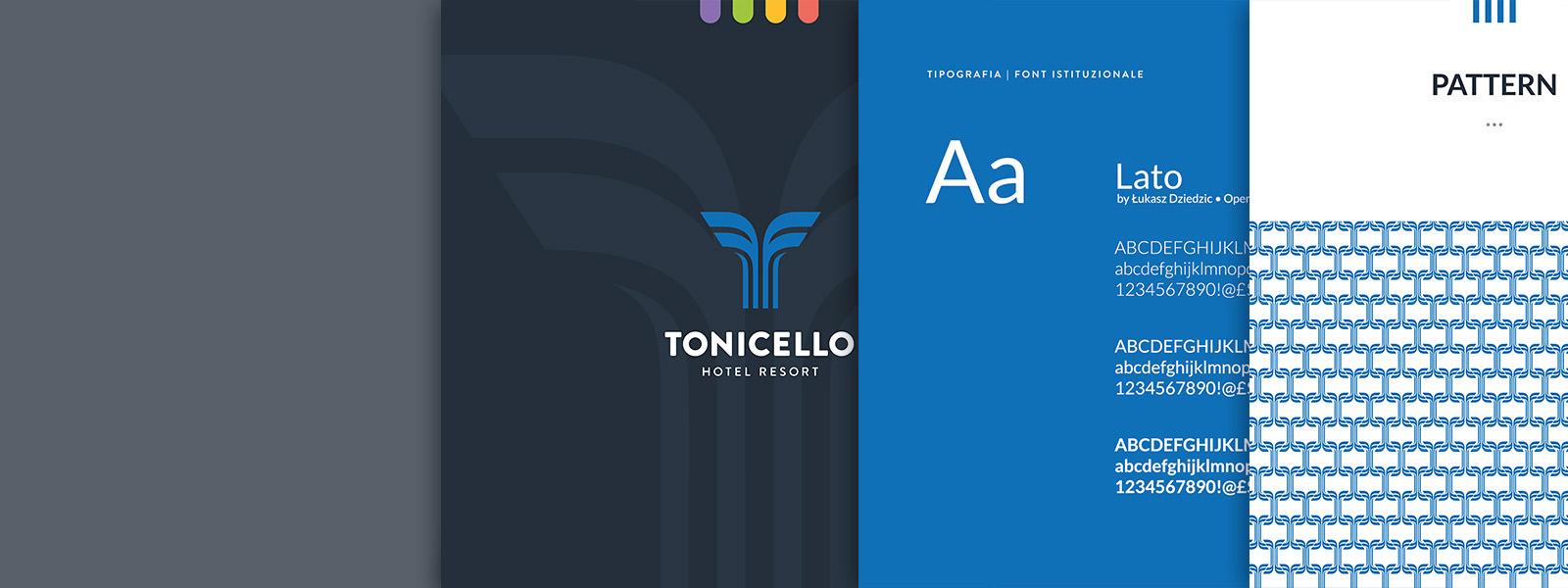 Muse Comunicazione - Tonicello: Brand e Logo Design