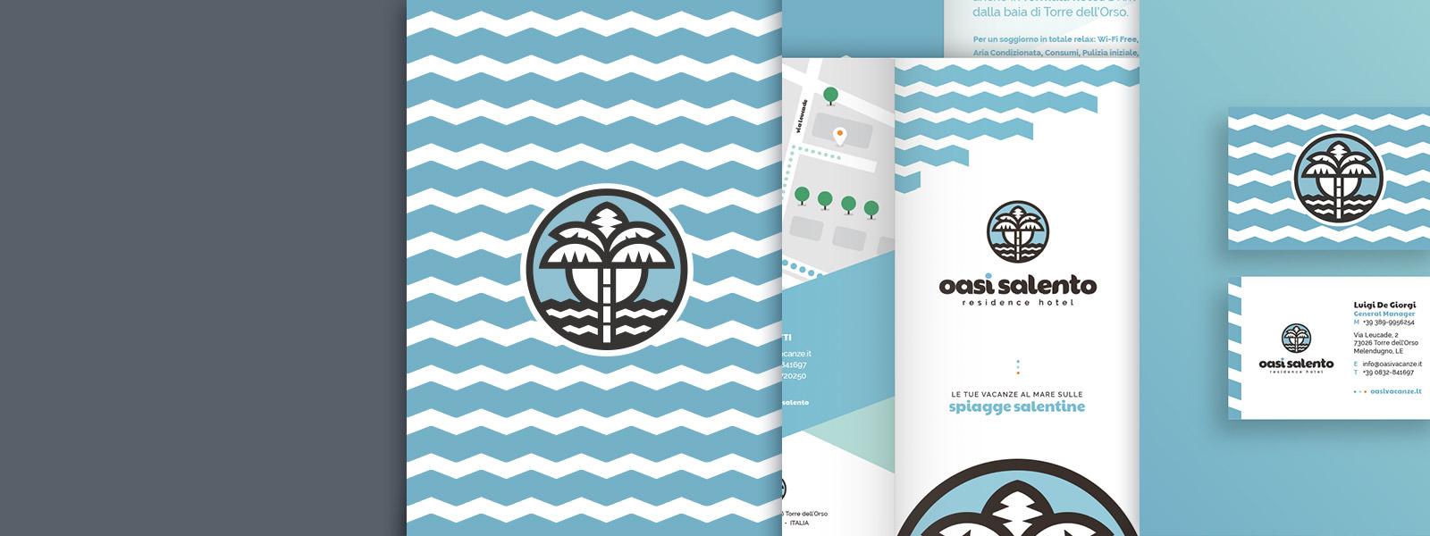 Muse Comunicazione - OasiSalento: Brand e Logo Design