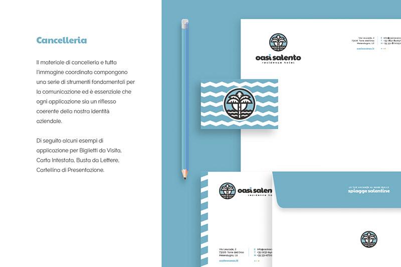 OasiSalento - Stationery Design