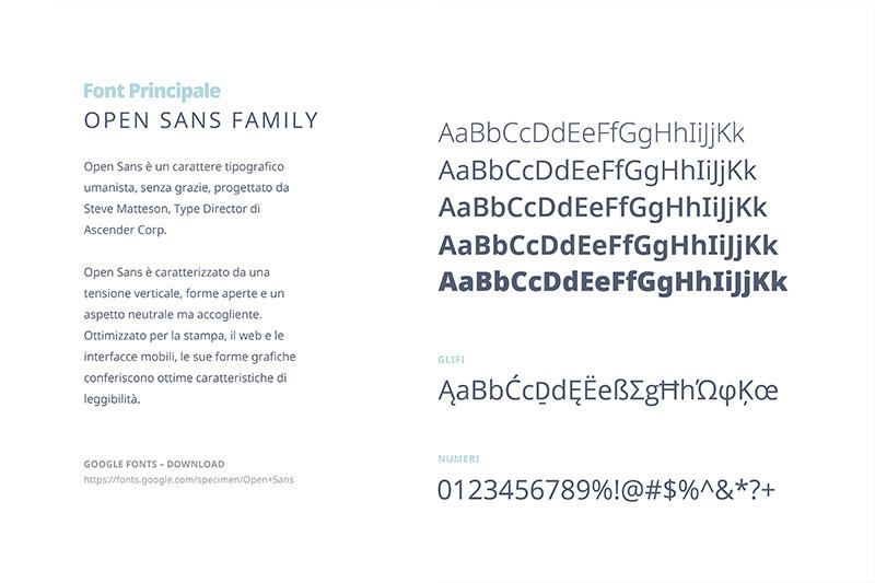 PalmeGemelle - Brand Restyling: Tipografia
