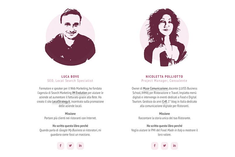 DMR - Gli autori Luca Bove e Nicoletta Polliotto