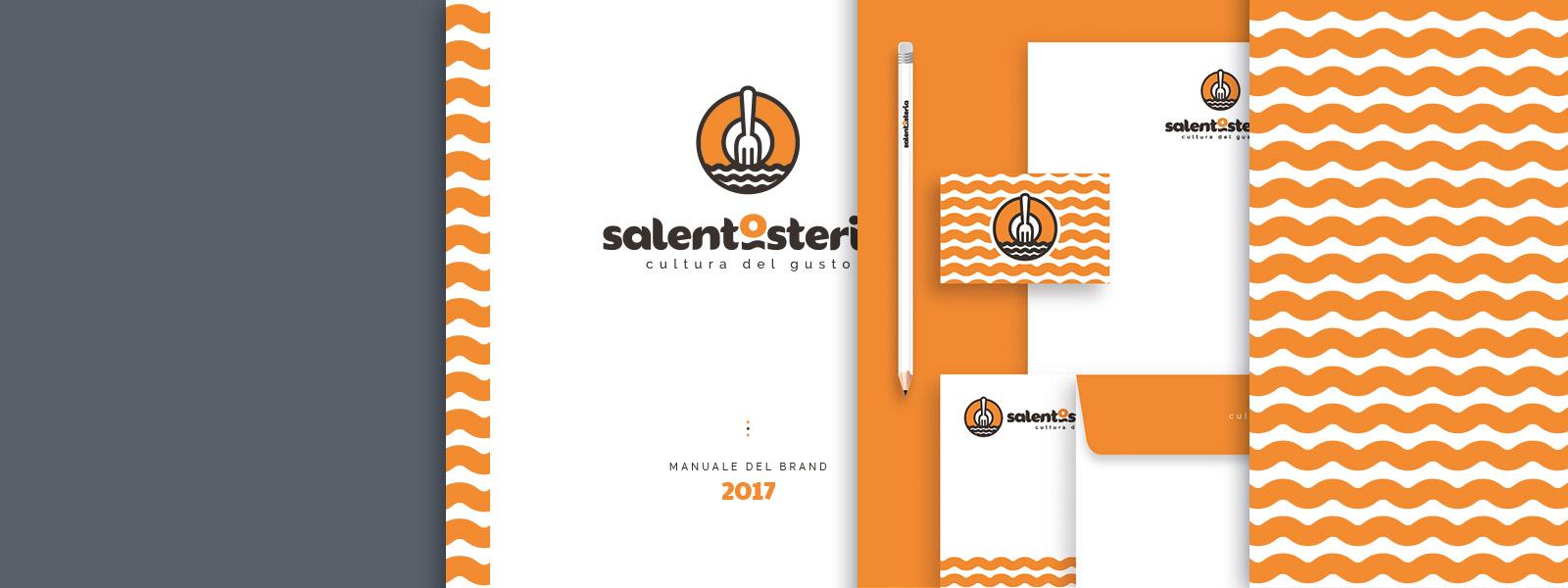 Muse Comunicazione - SalentOsteria: Brand e Logo Design