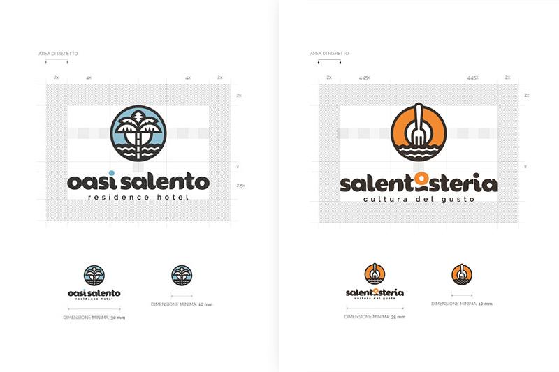SalentOsteria - Logo Design a confronto