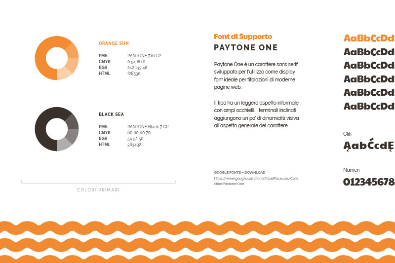 SalentOsteria - Palette Colori e Tipografia