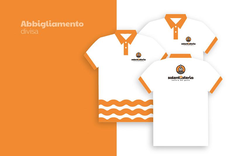 SalentOsteria - Applicazioni Future: Divise e T-shirt