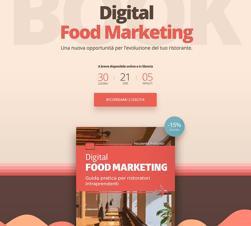 Muse Comunicazione - Digital Food Marketing: Pre-Launch Page
