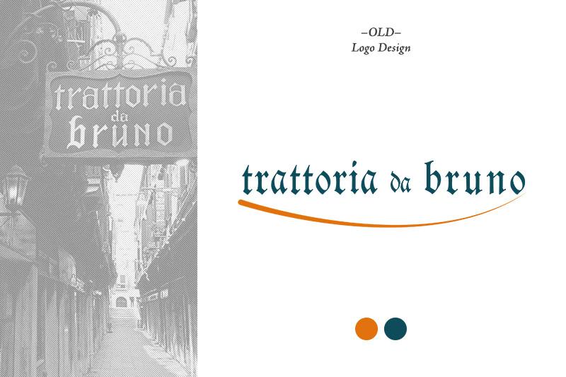 Da Bruno: Old Logo Design