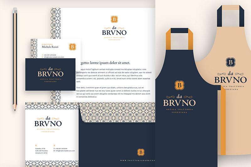 Da Bruno: identità visiva e corporate design
