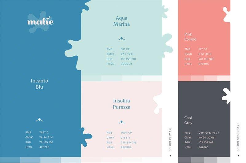 Malìe - Residenze Diffuse: Palette Colori
