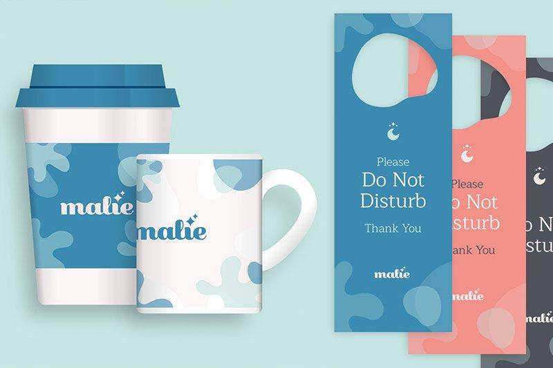 Malìe - Residenze Diffuse: Brand Application