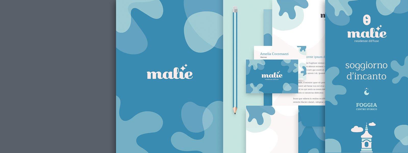 Muse Comunicazione - Malìe Residenze Diffuse: Branding e Web Design